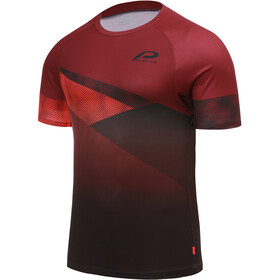Protective P-Dust Cycling Shirt Men, deep red